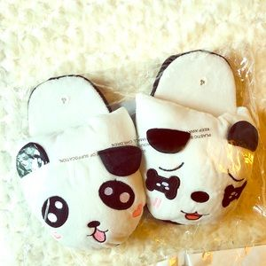 Shoes - PANDA ADULT SLIPPERS SIZE SMALL 5/6